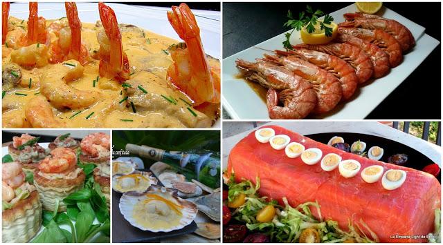 Cinco entrantes de pescado y marisco para navidad cocina for Cocina facil para navidad