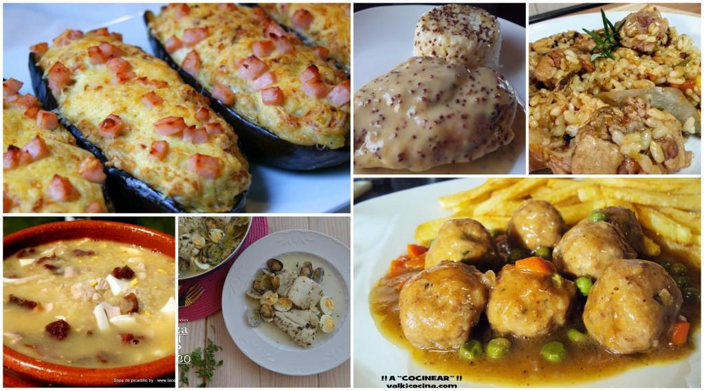 Cinco ideas para cenar cocina for Ideas para hacer de cenar