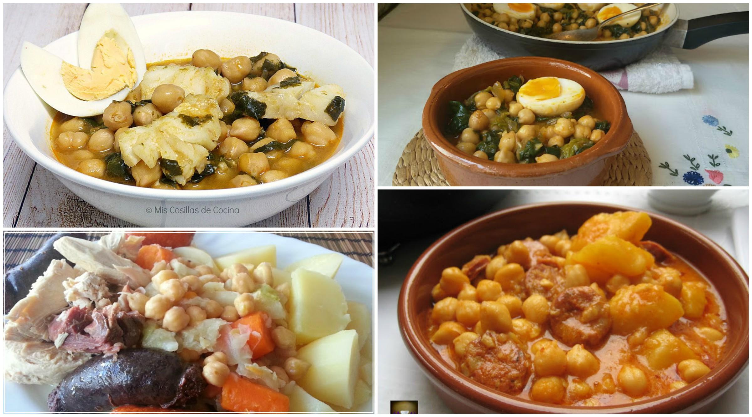 Recetas de garbanzos cocina f cil la cocina de pedro y - Preparacion de garbanzos cocidos ...