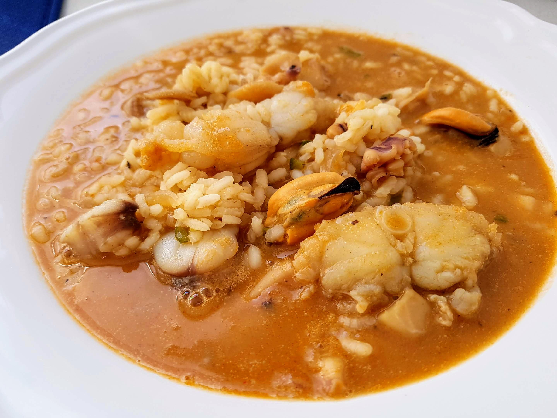 arroz caldoso marinero
