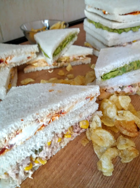 4 rellenos de sandwich