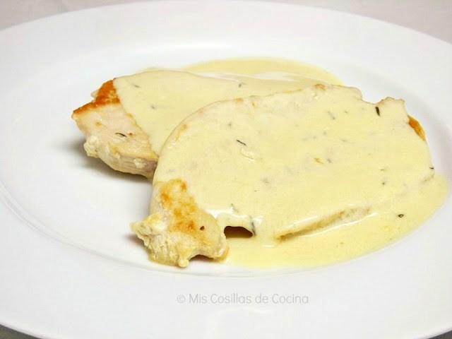 pollo en salsa de mostaza y miel